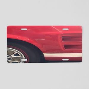 1968 Mustang GTA Portrait Aluminum License Plate