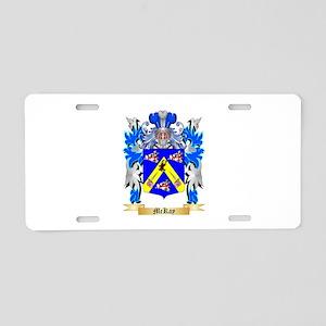 McKay Aluminum License Plate