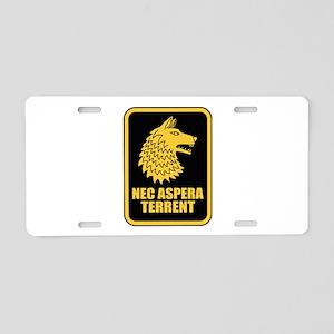 27th Infantry Regt (R) Aluminum License Plate