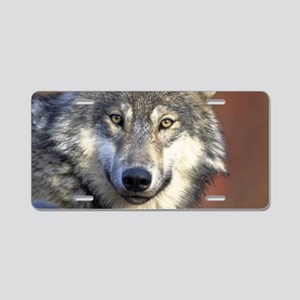 Wolf 024 Aluminum License Plate