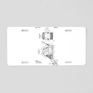 1927 L. Durr Floor Sander Aluminum License Plate