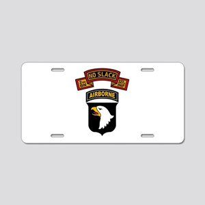 2-327th - 101st Aluminum License Plate