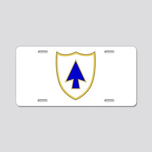 26th Infantry Regiment Aluminum License Plate