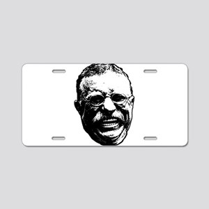 Laughing Teddy Aluminum License Plate
