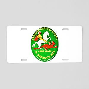 Ethiopia Beer Label 1 Aluminum License Plate