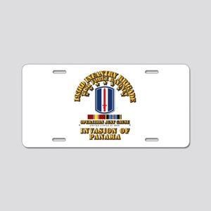 Just Cause - 193rd Infantry Aluminum License Plate