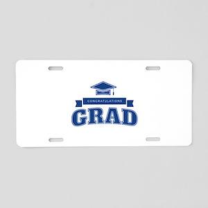 Congratulations Grad Aluminum License Plate