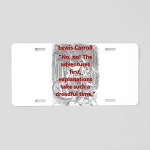 No No The Adventures First - L Carroll Aluminum Li