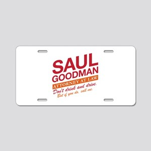 Breaking Bad - Saul Goodman Aluminum License Plate