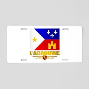LAcadiane Aluminum License Plate