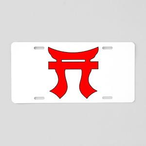 187th Infantry Regt Tori Aluminum License Plate