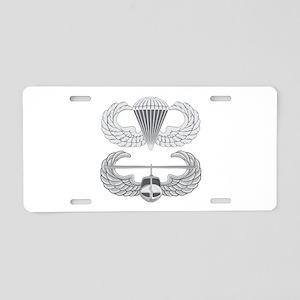 Airborne and Air Assault Aluminum License Plate