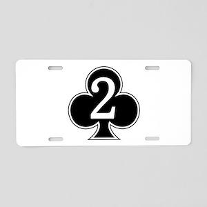 2-327 Infantry Aluminum License Plate
