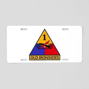 1st AD Aluminum License Plate