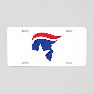 Trump Logo Aluminum License Plate