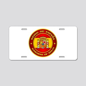 Spain Medallion Aluminum License Plate