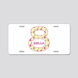 8th Birthday Personalized Aluminum License Plate
