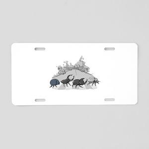 Beatles Aluminum License Plate