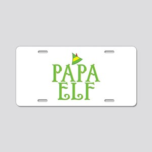 Papa Elf Aluminum License Plate