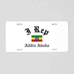 I rep Addis Ababa Aluminum License Plate