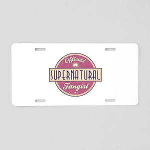 Official Supernatural Fangirl Aluminum License Pla