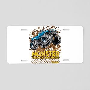 Monster Truck Maniac Aluminum License Plate