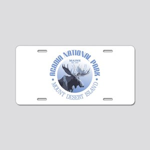 Acadia National Park (moose) Aluminum License Plat