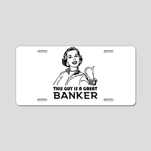 Gifts for Bankers. *BEST SE Aluminum License Plate