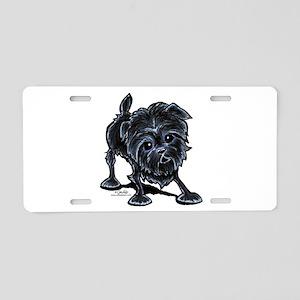 Affenpinscher Lover Aluminum License Plate