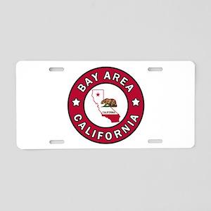 Bay Area Aluminum License Plate