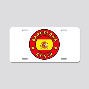 Barcelona Spain Aluminum License Plate