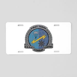 Combat Controller Aluminum License Plate