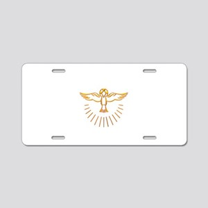 Ascent of The Holy Spirit Aluminum License Plate