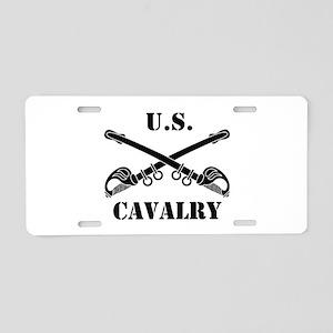 US Cavalry Aluminum License Plate