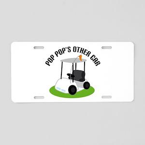 PopPop's Other Car Golf Cart License Plate