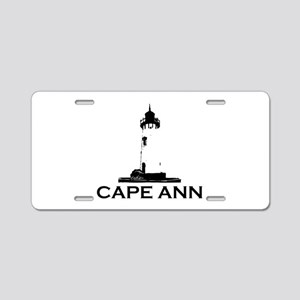 Cape Ann - Lighthouse Design. Aluminum License Pla