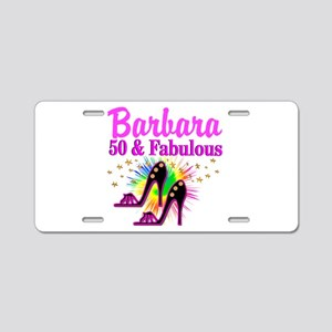 FANTASTIC 50TH Aluminum License Plate