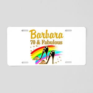 CELEBRATE 70 Aluminum License Plate