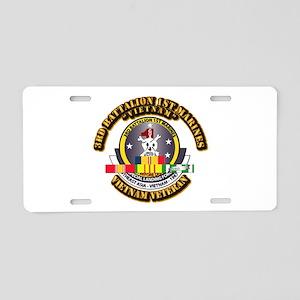 SSI - 3rd Bn - 1st Marines w VN SVC Ribbon Aluminu