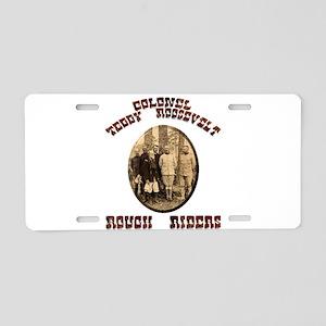 Col Teddy Roosevelt Aluminum License Plate