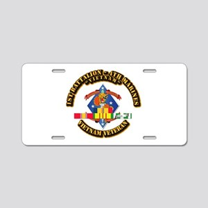 1st Bn - 4th Marines w VN SVC Ribbon Aluminum Lice