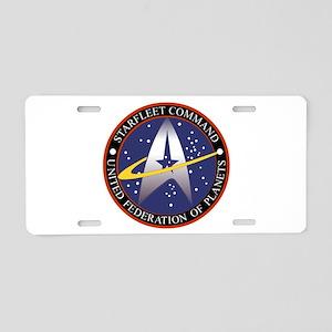 Starfleet Command Emblem Aluminum License Plate