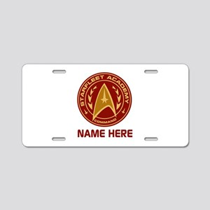 Starfleet Academy Personali Aluminum License Plate