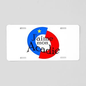 Acadie Aluminum License Plate