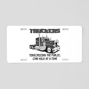 Truckers-Terrorizing The Aluminum License Plate