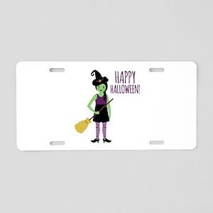 Happy Halloween! Aluminum License Plate