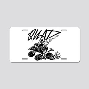 QUAD 4x4 Off Road Edition Aluminum License Plate