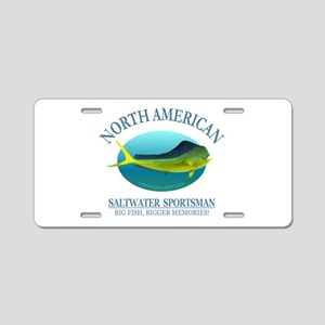 NASM (Mahi Mahi) Aluminum License Plate
