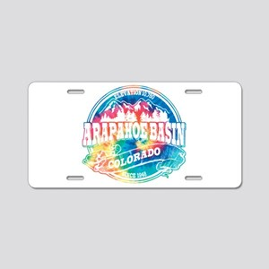 Arapahoe Basin Old Circle Aluminum License Plate