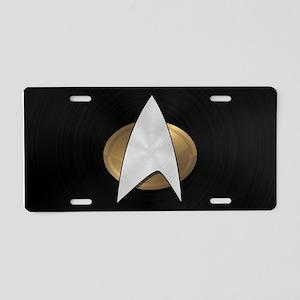 STARTREK TNG METAL 5 Aluminum License Plate